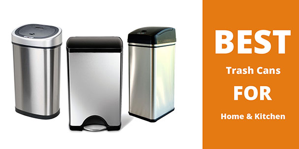 10 Best Kitchen Trash Can of 2017 Buyers Guide Reviews