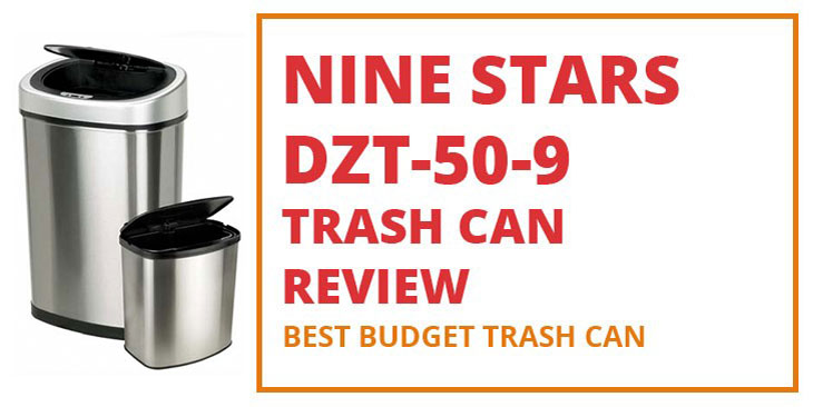 Nine Stars DZT-50-9 Trash Can Review