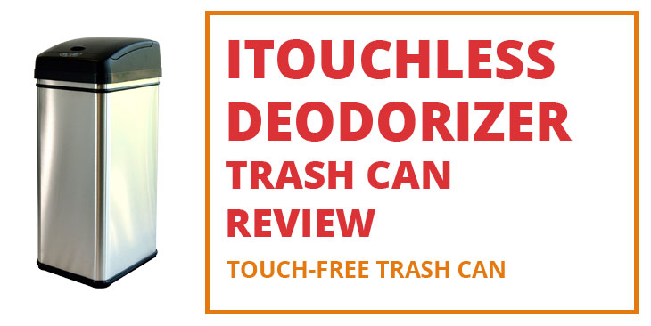 iTouchless Deodorizer Touch-Free Sensor Trash Can Review